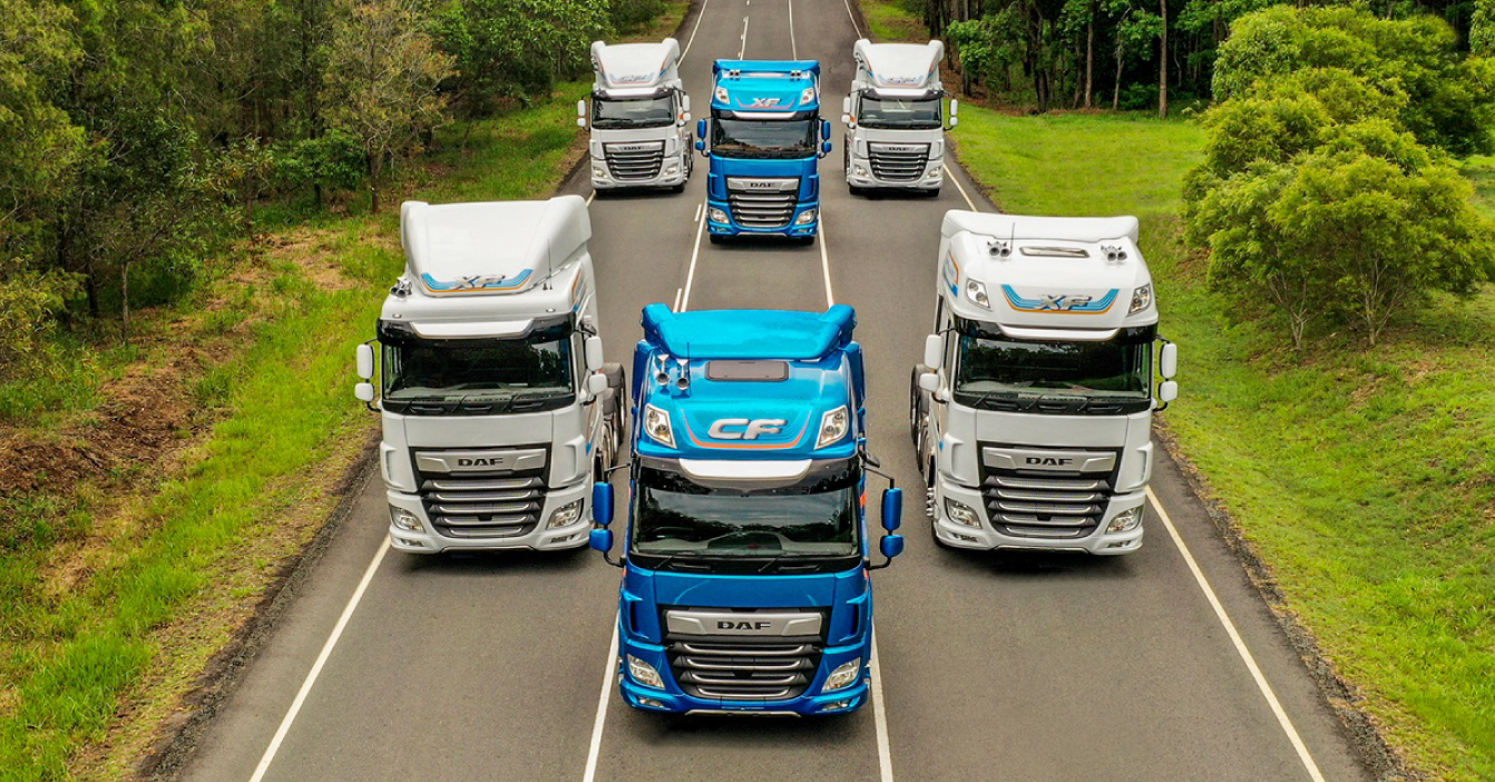 Another international recognition for DAF CF and DAF XF